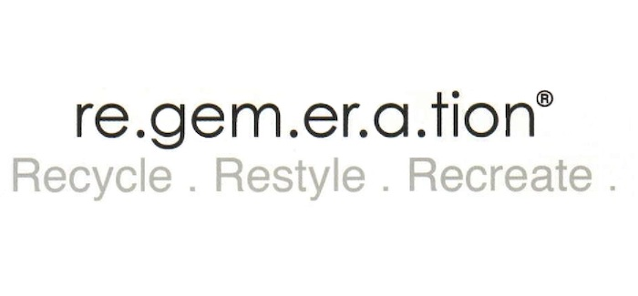 regemeration. recycle. restyle. recreate.